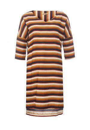 Платье Sweet Miss. Цвет: коричневый