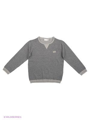 Джемпер NAME IT. Цвет: серый, бронзовый, серый меланж