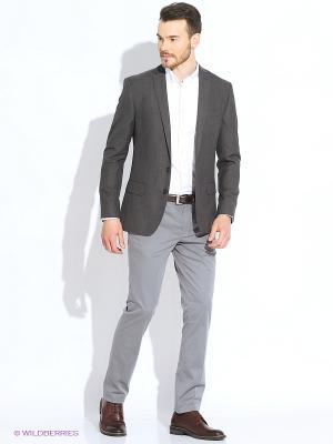 Пиджак INCITY. Цвет: темно-серый
