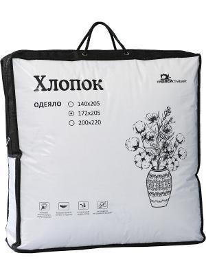 Одеяло Хлопок ИвШвейСтандарт. Цвет: бежевый, серый