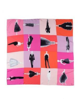 Платок DIOR. Цвет: розовый