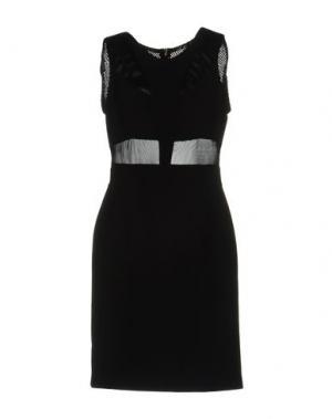 Короткое платье TUWE ITALIA. Цвет: черный