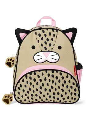 Рюкзак Леопард SkipHop. Цвет: бежевый, розовый