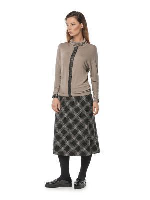 Блузка HELMIDGE. Цвет: коричневый, темно-бежевый