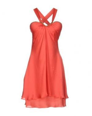 Короткое платье SOOZ by ISABEL C.. Цвет: красный