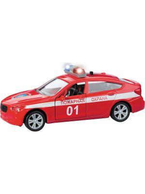 Машина BAVARIA GRAN TURISMO пожарная охрана AUTOTIME. Цвет: красный