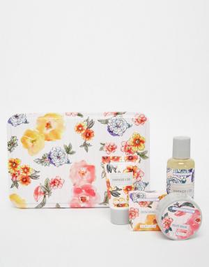 Beauty Extras Косметический набор для ухода за телом Vintage & Co Patterns Petals. Цвет: бесцветный
