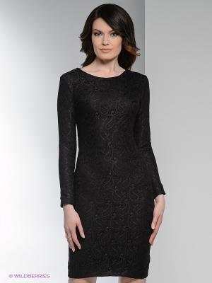 Платье Enna Levoni. Цвет: черный, золотистый