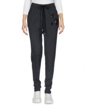 Повседневные брюки MARKUS LUPFER. Цвет: стальной серый