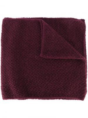 Тканый шарф Fabiana Filippi. Цвет: красный