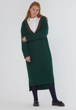 Платье W&B. Цвет: зеленый