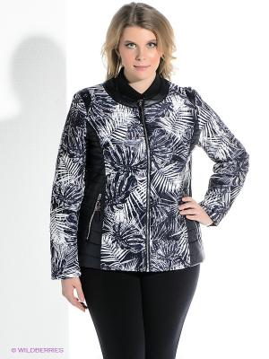 Куртка VIZANI. Цвет: темно-синий, белый