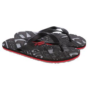 Шлепанцы Globe Closeout Black/Charcoal/Red 1094273