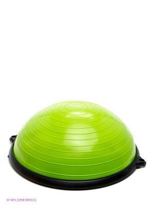 Полусфера BOSU STAR FIT GB-501 с эспандерами, насосом, зеленый starfit. Цвет: зеленый