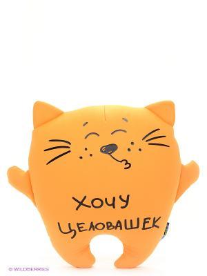 Кот Целовашка MAXITOYS. Цвет: оранжевый