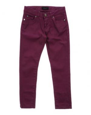 Джинсовые брюки TWIN-SET Simona Barbieri. Цвет: пурпурный