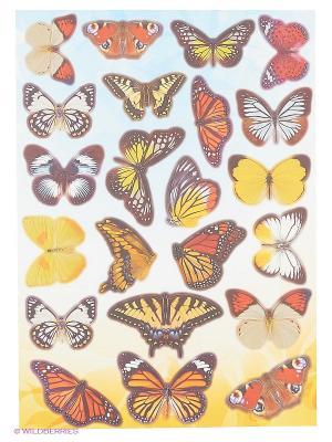 Садовые бабочки DECORETTO. Цвет: желтый, голубой, бежевый, красный