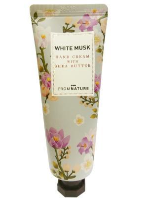 Крем для рук с маслом Ши, белый мускус Echoice. Цвет: розовый