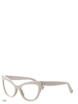 Солнцезащитные очки MAXMARA. Цвет: светло-бежевый, черный