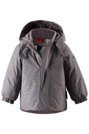 Куртка Reima. Цвет: серый