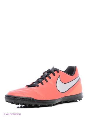 Шиповки TIEMPO RIO III TF Nike. Цвет: красный