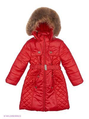 Пальто M-Bimbo. Цвет: красный