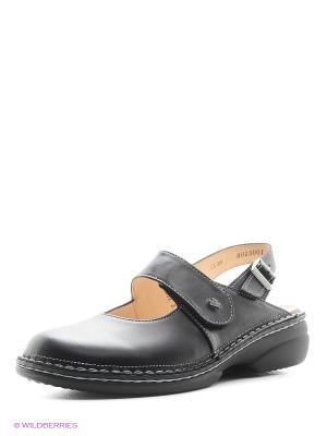 Туфли ортопедические Finn Comfort. Цвет: черный