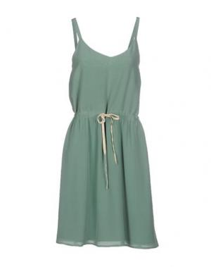Платье до колена DES PETITS HAUTS. Цвет: зеленый