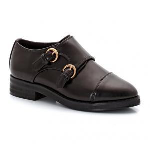 Ботинки-дерби в мексиканском стиле для девочек La Redoute Collections. Цвет: черный