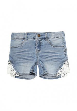 Шорты джинсовые Name It. Цвет: голубой