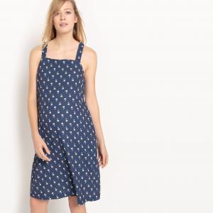 Платье для периода беременности R essentiel. Цвет: набивной рисунок