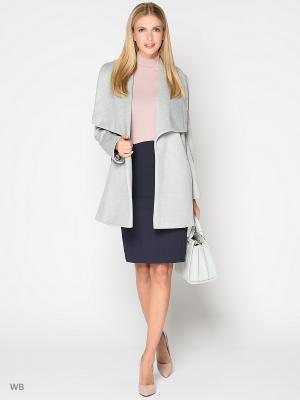 Пальто Stets. Цвет: серый
