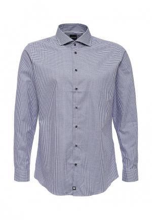 Рубашка Strellson. Цвет: голубой