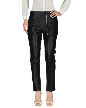 Повседневные брюки OAK. Цвет: черный