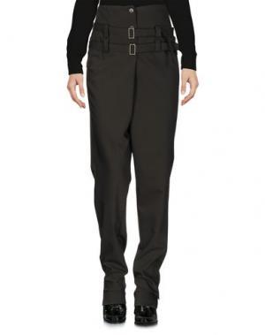 Повседневные брюки OBLIQUE CREATIONS. Цвет: темно-зеленый