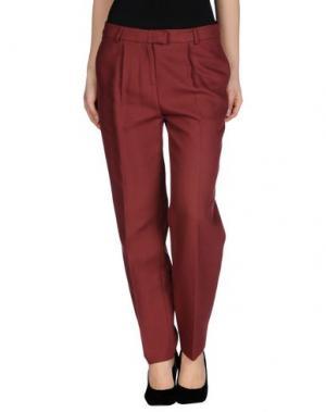 Повседневные брюки CHLOTILDE. Цвет: кирпично-красный