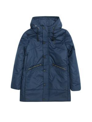 Пальто SKORPIAN. Цвет: синий