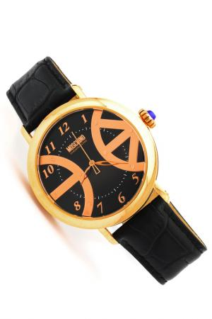 Часы наручные Moschino. Цвет: черный