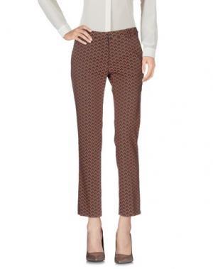 Повседневные брюки TRĒS CHIC S.A.R.T.O.R.I.A.L. Цвет: коричневый