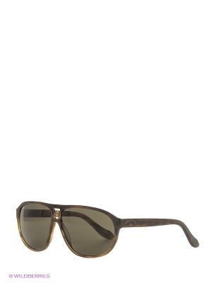 Солнцезащитные очки AN 738 03 Vivienne Westwood. Цвет: серо-коричневый