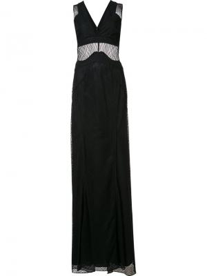 Вечернее платье Corrine Zac Posen. Цвет: чёрный
