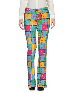 Повседневные брюки ULTRA'CHIC. Цвет: бирюзовый