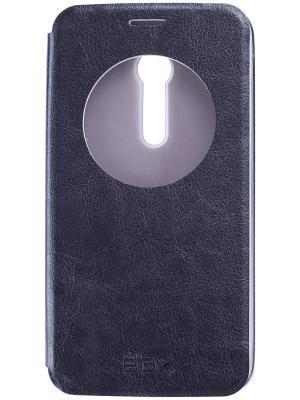Чехол-накладка для Asus ZenFone 2 skinBOX. Цвет: черный