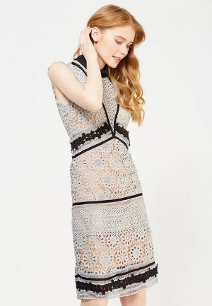 Платье Danity. Цвет: голубой