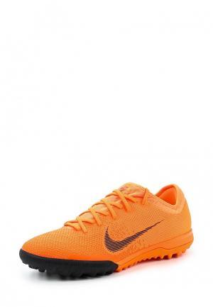 Шиповки Nike. Цвет: оранжевый