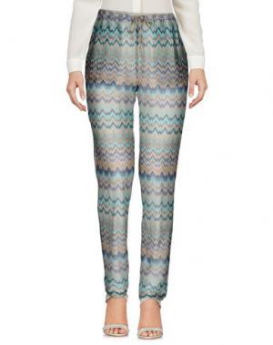 Повседневные брюки DRY LAKE.. Цвет: бирюзовый