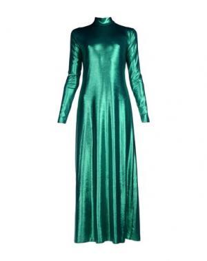 Длинное платье NINEMINUTES. Цвет: зеленый