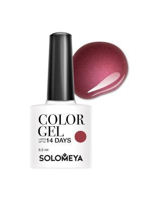 Гель-лак Solomeya Color Gel Catarina SCG111/Катарина. Цвет: малиновый