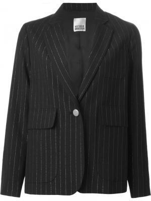Pinstriped blazer Arthur Arbesser. Цвет: чёрный