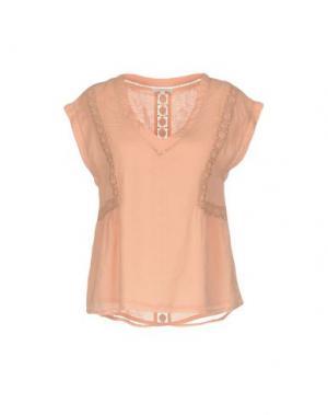 Блузка INTROPIA. Цвет: розовый